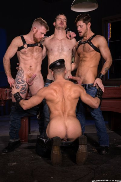 Raging Stallion, Two Dick Minimum